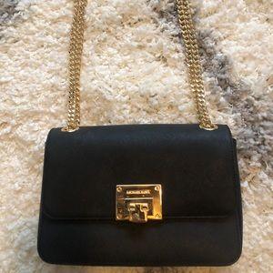 BRAND NEW 🖤 Michael Kors black & gold bag